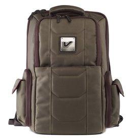 Gruv Gear - Club Bag, Elite Pewter/Crimson w/Leather