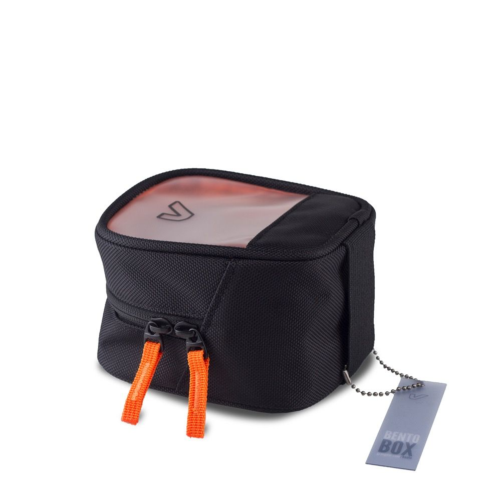 Gruv Gear - Bento Box, Half/Tall, Classic Black/Orange