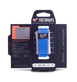 Gruv Gear - Fretwraps 1-Pack, Blue, Small