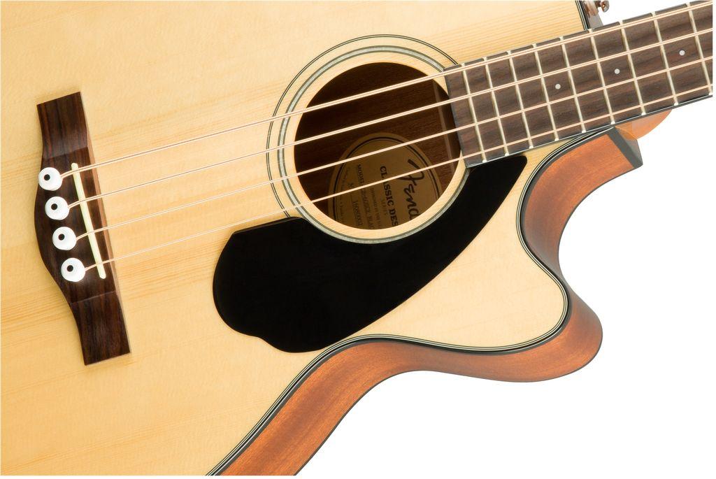 Fender - CB60SCE Acoustic Bass, Cutaway Natural