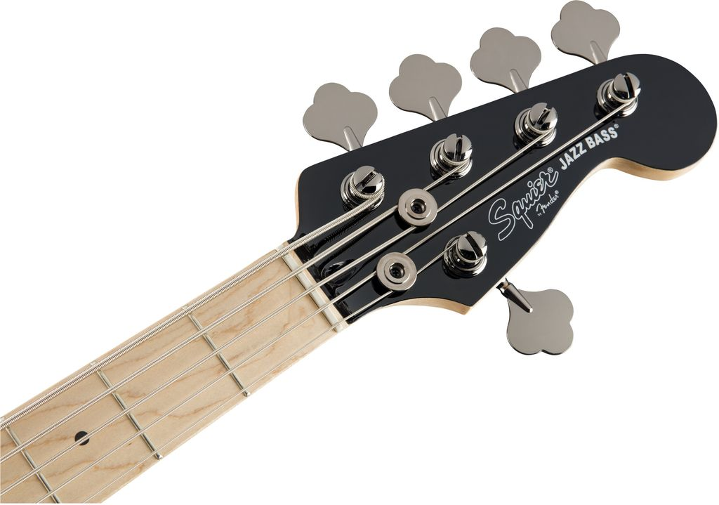 Squier - Contemporary Active Jazz Bass V HH, Maple Fingerboard, Black