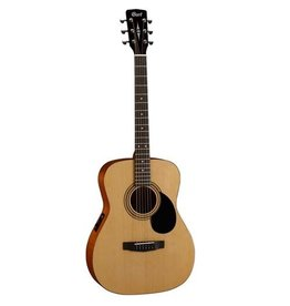 Cort - AF510E-OP Concert Folk Acoustic, Natural Satin, w/Pickup