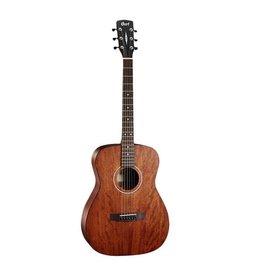 Cort - AF510M-OP Concert Folk Acoustic, All Mahogany