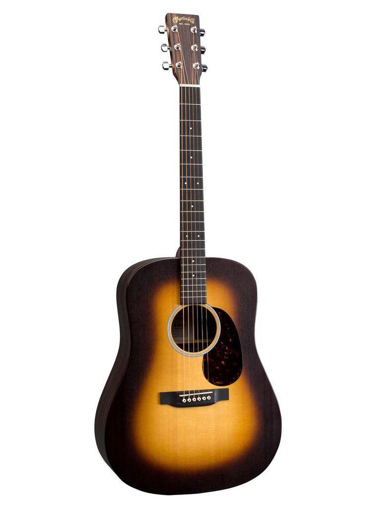 Martin - DX1AE X Series Dreadnought, Spruce/Macassar HPL, Pickup, Burst Finish