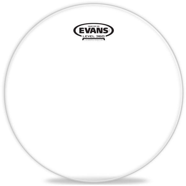 """Evans - Hazy 300 Snare Side, 13"""""""
