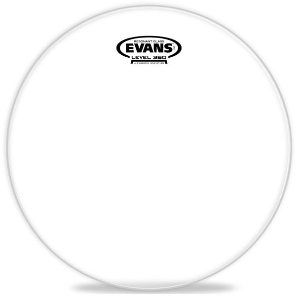 "Evans - Resonant Glass Tom Reso, 16"""