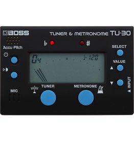 Boss - TU-30 Chromatic Tuner/Metronome