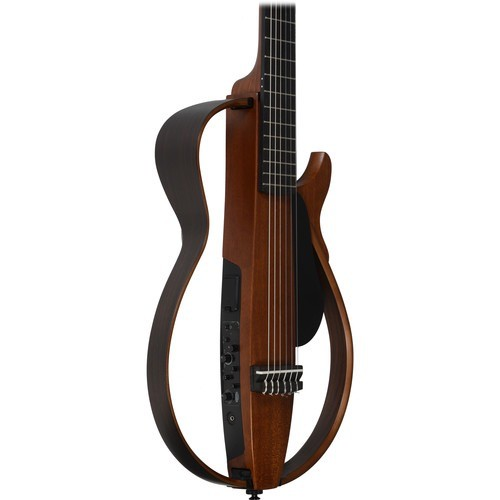 Slg200s silent guitar steel string tobacco brown for Yamaha slg200s steel string silent guitar