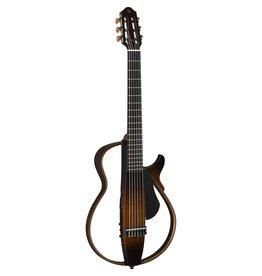 Yamaha - SLG200N Silent Guitar, Nylon String, Tobacco Brown Sunburst