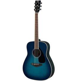 Yamaha - FG820 Dreadnought Acoustic, Sunset Blue