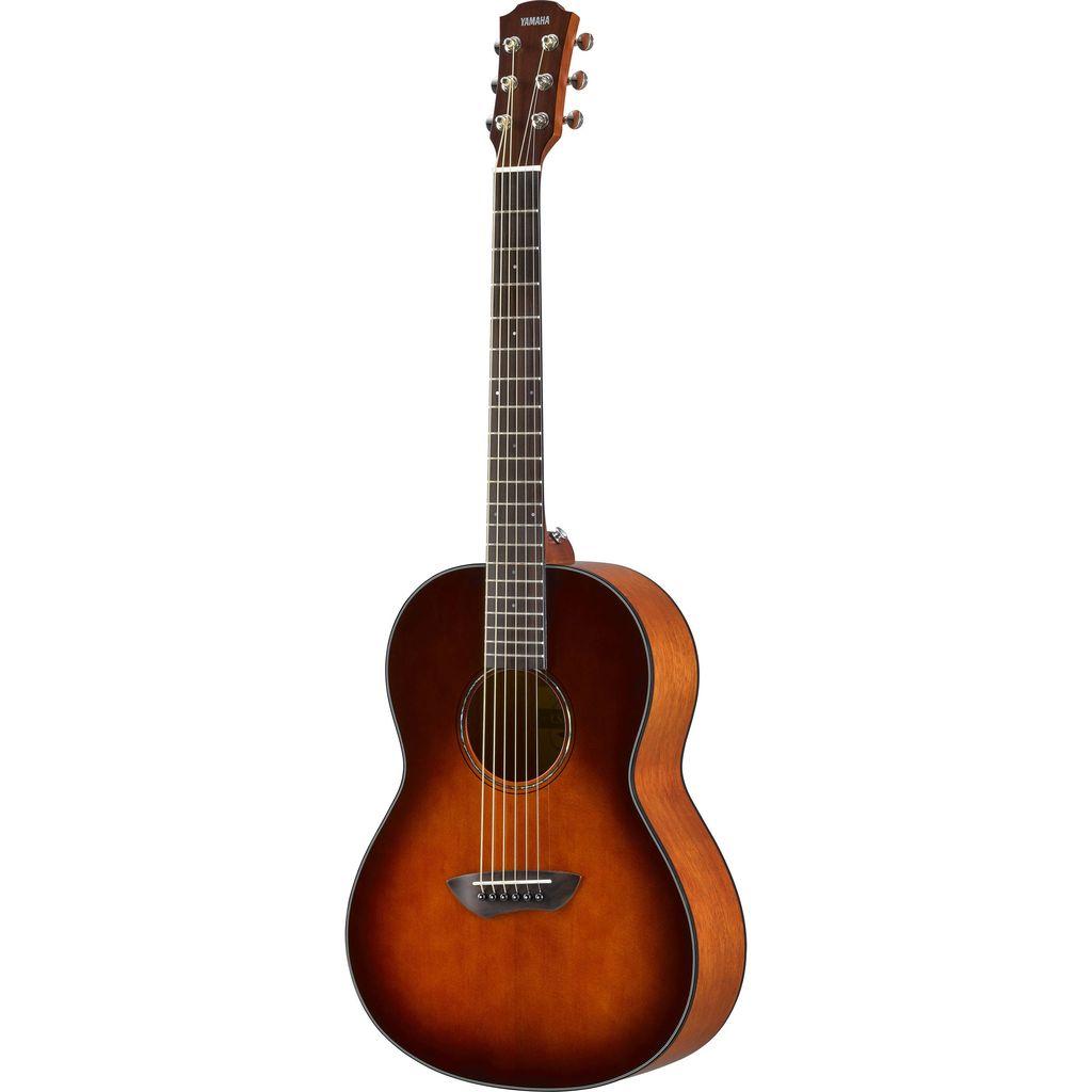 Yamaha - CSF1M Parlour Acoustic w/Pickup & Deluxe Gigbag, Tobacco Burst