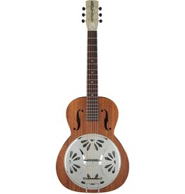 Gretsch - Roots Resonator, G9200 Boxcar Round Neck, Natural