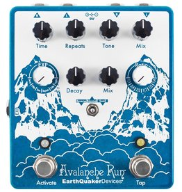 EarthQuaker Devices - Avalanche Run Stereo Delay & Reverb w/ Tap Tempo Pedal
