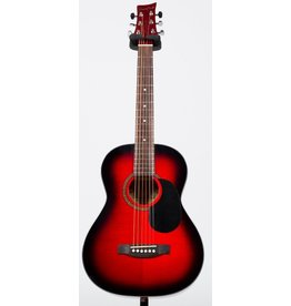 Beaver Creek - 3/4 Size Acoustic, Trans Red