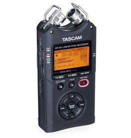 Tascam - DR-40 4 Track Portable Digital Recorder w/Combo XLR Inputs