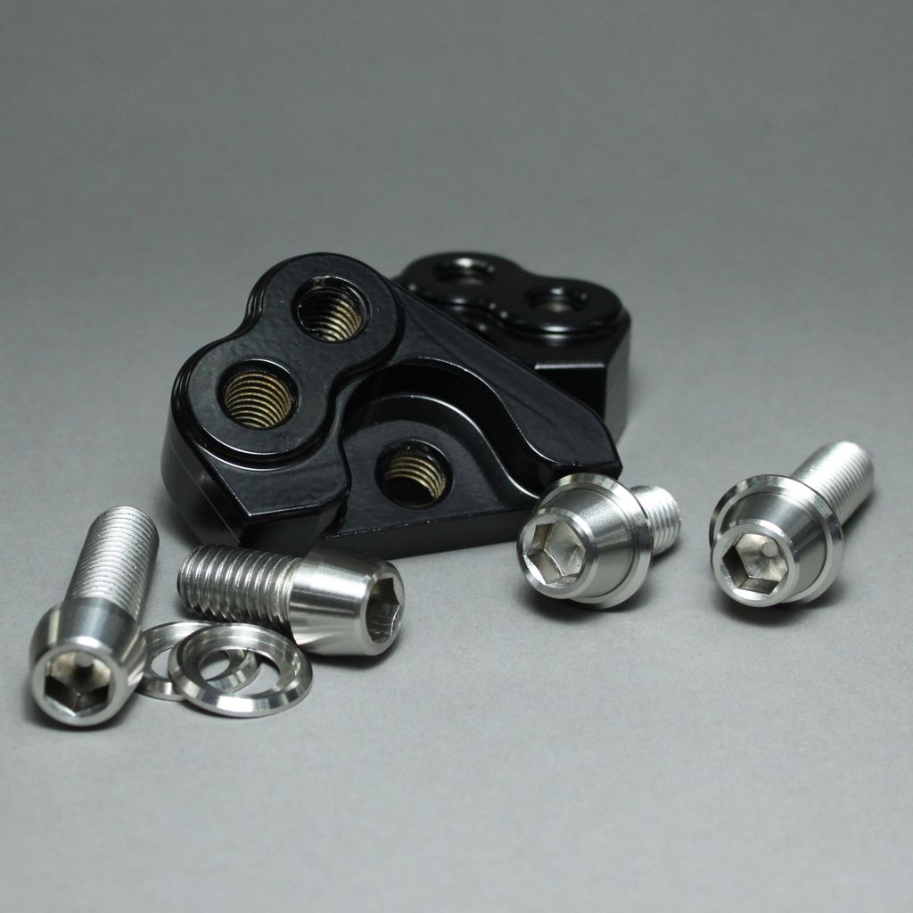 MJK Original Parts DYNA Adjustable Shock Lifting Block (Approx $150 USD)