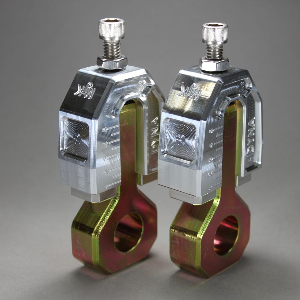 MJK Original Parts DYNA Rear Axle Adjusters (Approx $195 USD)