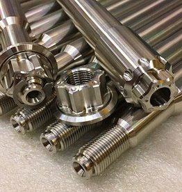 MJK Original Parts Touring Stainless Front Axle 2009 and Up. (Approx $269.95 USD)