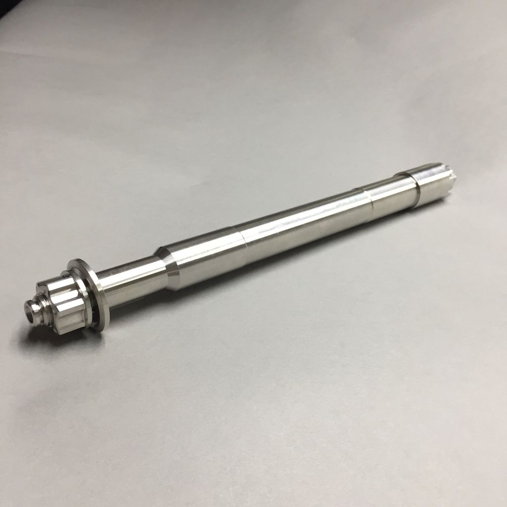 MJK Original Parts Touring Stainless Front Axle 2008-2018 (Approx $269 USD)