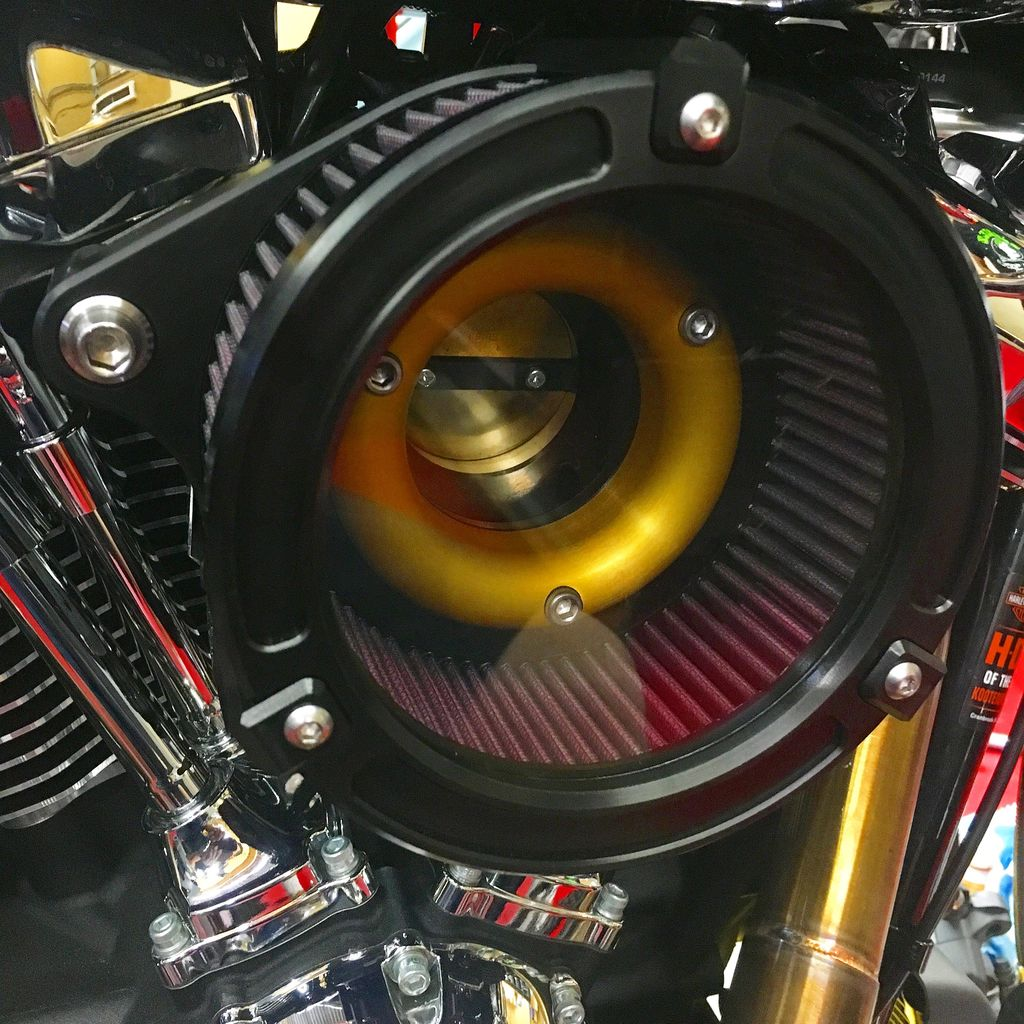MJK Original Parts See Through Performance Air Cleaner Kit ($549.95 USD Approx)