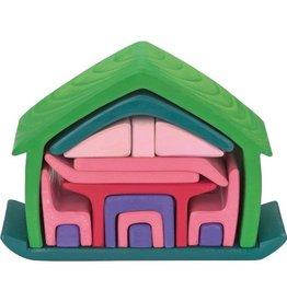 Gluckskafer All-in house, green