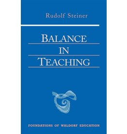 Steiner Books Balance In Teaching