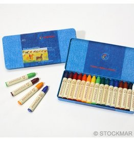 Stockmar Stockmar Stick Crayons 16 Assorted