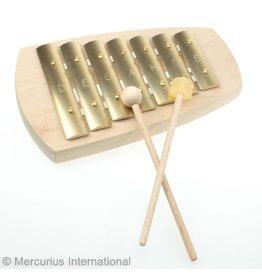 Auris Glockenspiel Straight basic 7 tone Pentatonic KAP-907 d-e