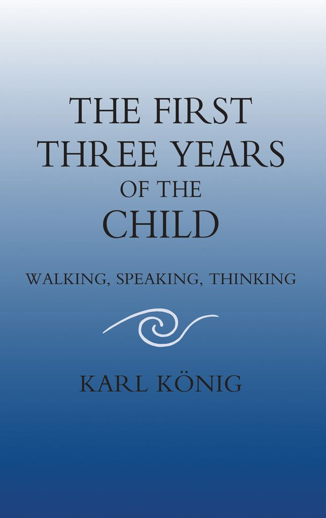 Floris Books The First Three Years Of The Child: Walking Speaking Thinking