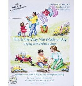 Naturally You Can Sing This is the Way We Wash-a-Day with CD