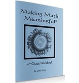 Jamie York Press Making Math Meaningful: A 6th Grade Student's Workbook