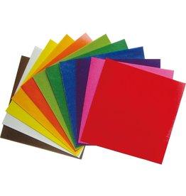 Mercurius Kite paper 16 x16 cm assorted 11 colours 100 sh