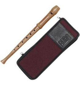 Aura recorder baroque setting unlacquered - GR 4 narrow blue case