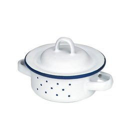 Gluckskafer Enamel Pot low 8cm