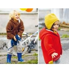Disana Disana Baby/Child Hooded Jacket Boiled Wool