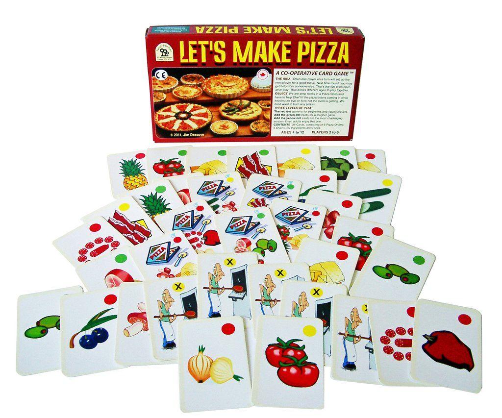 Family Pastimes Let's Make Pizza