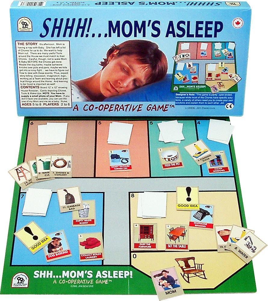 Family Pastimes Shhh!.. Mom's Asleep