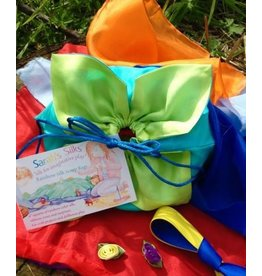 Sarah's Silks Rainbow Scrap Bag