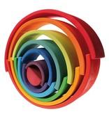 Grimm's Tunnel, Rainbow, 12 Pcs.