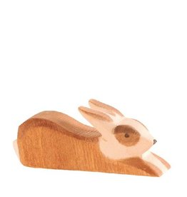 Ostheimer Spotted Rabbit brown lying