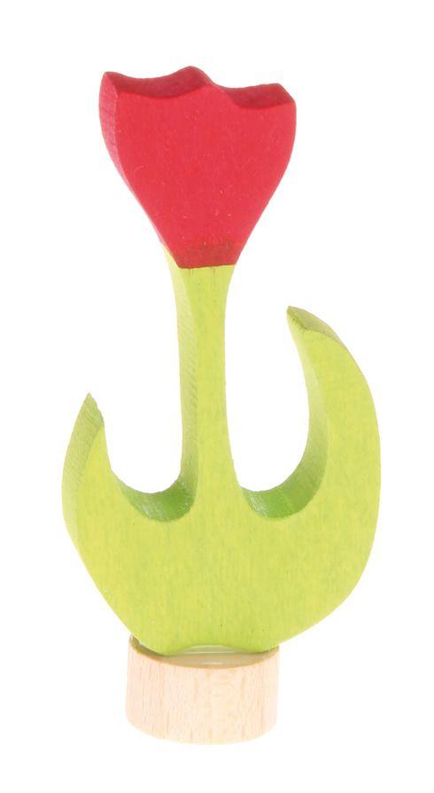Grimm's Deco Tulip, Red