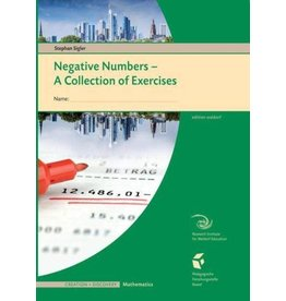 Waldorf Publications Negative Numbers: A Collection of Exercises for Students