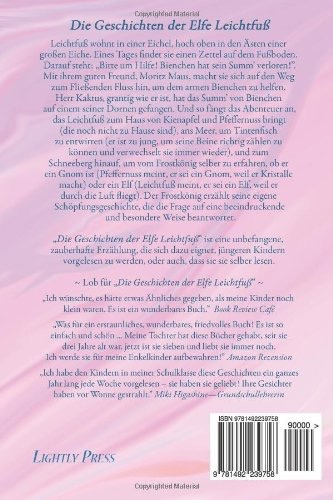 Lightly Press Die Geschinchten der Elfe Leichfuss (German edition of Tales of Tiptoes Lightly)