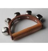 Uncategorized Handbells on leather strap