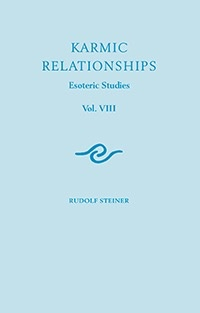 Rudolf Steiner Press Karmic Relationships 8: Esoteric Studies (CW 240)