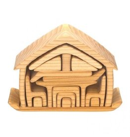 Gluckskafer All-in house, natural