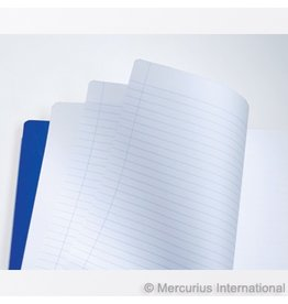 "Mercurius Main Lesson Book 2xlined/blank - blue - lrg 8.25"" x 9.25"" <br /> (21x30)"