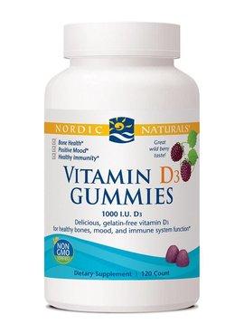 Nordic Naturals Vitamin D3 Gummies 120ct