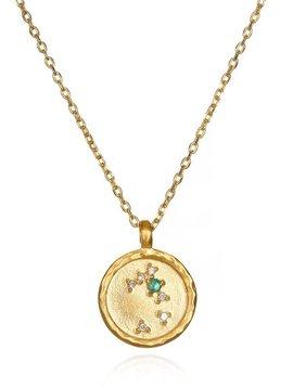 Satya Taurus Small Zodiac Necklace