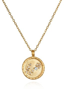 Satya Pisces Small Zodiac Necklace